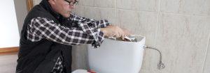 mécanisme de chasse d'eau